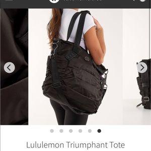 LULULEMON Triumphant Tote